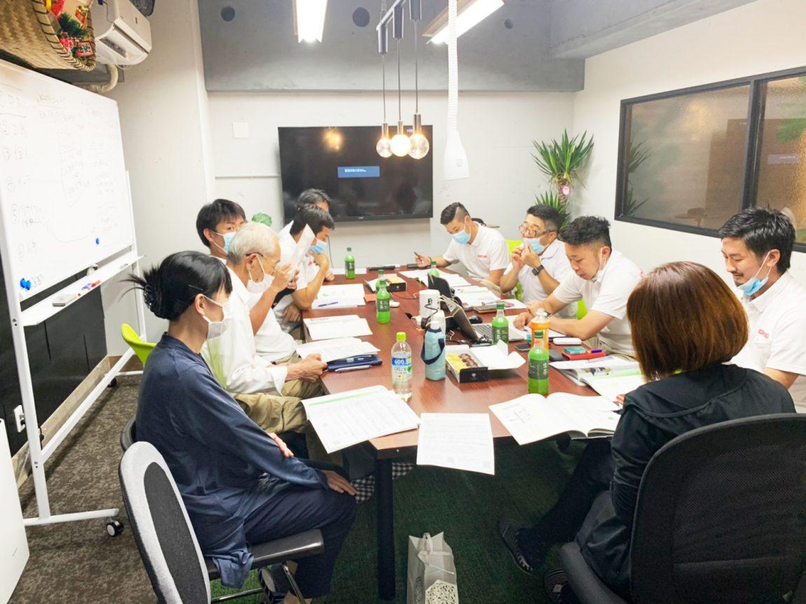 毎月の「理念と経営を共に学ぶ会」