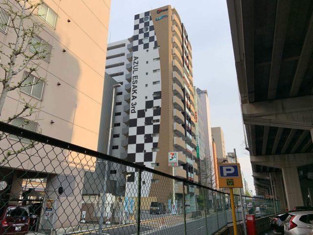 アスール江坂3rd外規模改修工事完了しました。