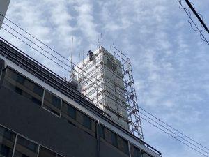塔屋の漏水調査5