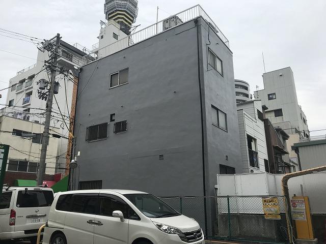 恵美須ビル外壁塗装工事