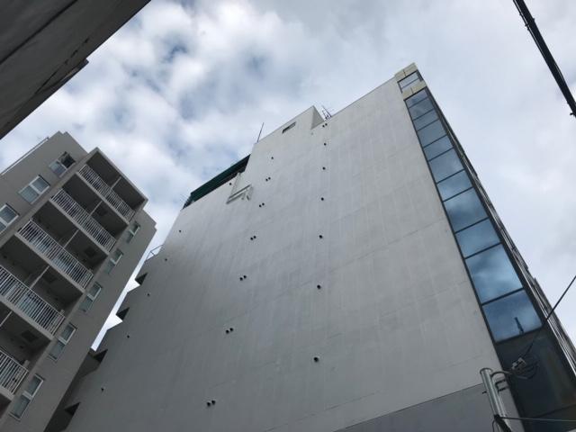 玉造ロイヤル和光ビル外壁塗装工事